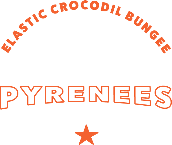 logo elastic crocodil bungee pyrénées