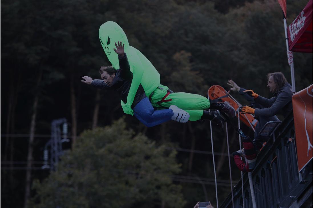saut elastique pyrenees