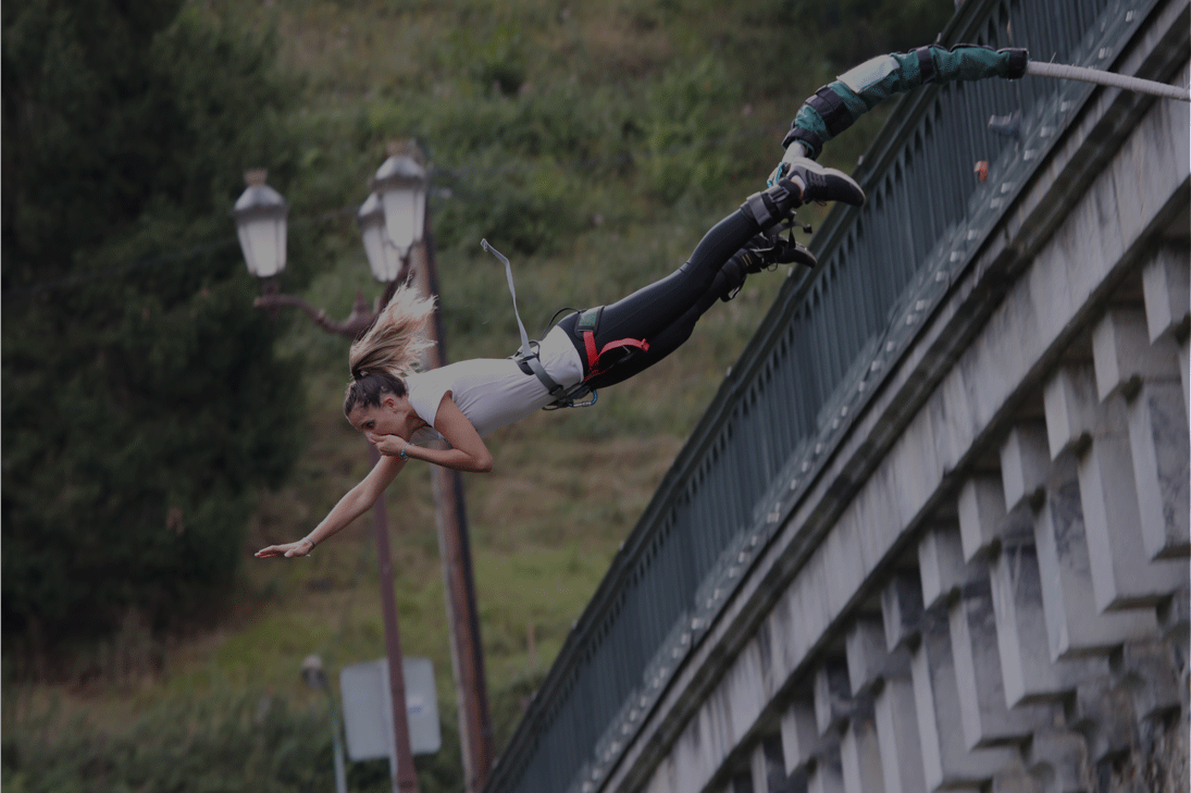saut elastique pyrénées